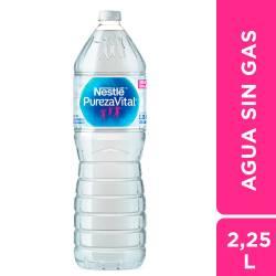 Agua de Mesa sin gas Nestlé x 2,25 Lt.