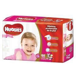 Pañal Huggies Natural Care Minnie Híper Pack G x 44 un.