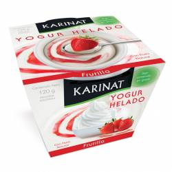 Yogur Helado Karinat Frutilla x 120 g.