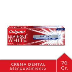 Crema Dental Colgate Luminous White x 70 g.