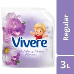 Suavizante Vivere Violetas y Flores Blancas Doy Pack x 3 Lt.