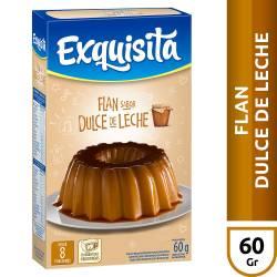 Flan de Dulce de Leche Exquisita x 60 g.