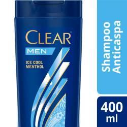 Shampoo Clear Ice Cool Menthol x 400 cc.