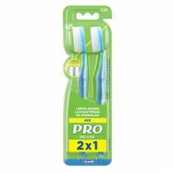 Cepillo Dental Pro Pro Deluxe x 2 un.