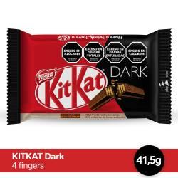 Oblea Rellena y Cubierta con Chocolate Kit Kat Dark x 41 g.
