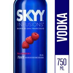 Vodka Skyy Raspberry x 750 cc.