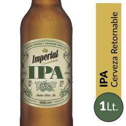 Cerveza Imperial IPA Retornable x 1 Lt.