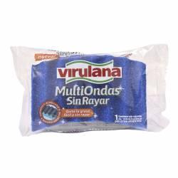 Fibra Esponja Multiondas sin rayar Virulana x 1 un.
