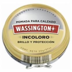 Pomada Lata Wassington Incolora x 30 cc.
