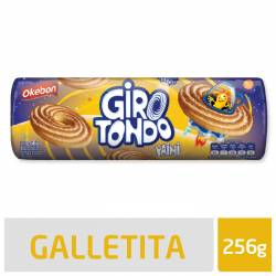 Galletitas Vainilla Girotondo Okebon x 256 g.