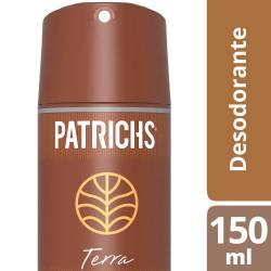 Desodorante Aerosol Patrichs Terra x 150 cc.