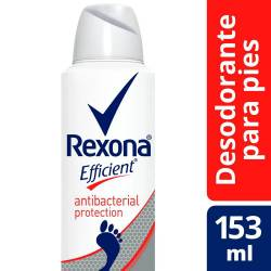 Desodorante Pédico Rexona Antibacterial Aerosol x 153 cc.
