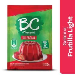 Gelatina en Polvo BC Frutilla x 20 g.