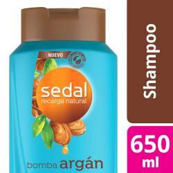 Shampoo Sedal Bomba Argán x 650 cc.