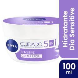 Crema Facial Nivea Cuidado Sensitive x 100 cc.