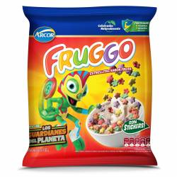 Cereal Estrellitas Fruggo Sabor Fruta x 180 g.
