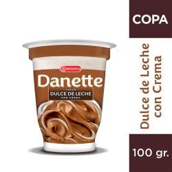 Postre Danette Dulce de Leche con Crema x 100 g.