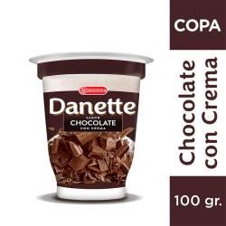 Postre Danette Chocolate con Crema x 100 g.