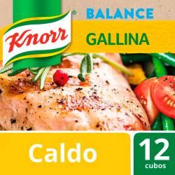 Caldo Balance Bajo Sodio Knorr Gallina x 114 g.