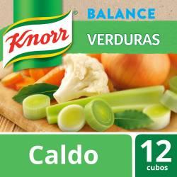 Caldo Balance Bajo Sodio Knorr Verduras x 114 g.