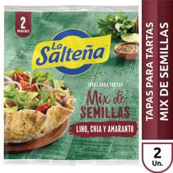 Tapas para Pascualina La Salteña Mix De Semillas x 400 g.