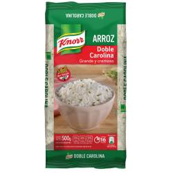 Arroz Doble Carolina Knorr Bolsa x 500 g.