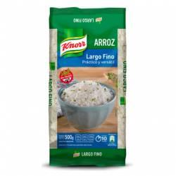 Arroz Grano Largo Fino Knorr Bolsa x 500 g.