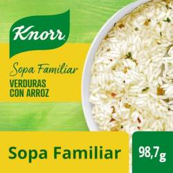 Sopa de Verduras con Arroz Knorr x 98 g.