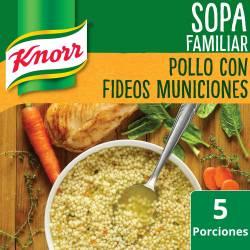 Sopa de Pollo con Fideos Knorr Municiones x 105 g.