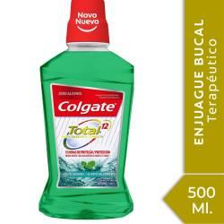 Enjuague Bucal Total 12 Colgate Aliento Saludable x 500 cc.