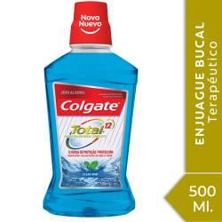 Enjuague Bucal Total 12 Colgate Clean Mint x 500 cc.