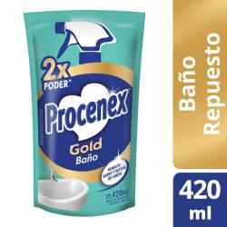 Limpiador Líquido Baño Procenex Doy Pack x 420 cc.
