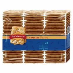 Galletitas Crackers Tía Maruca Original x 3 un. 318 g.