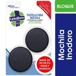 Bloque para Mochila Lysoform x 80 g.