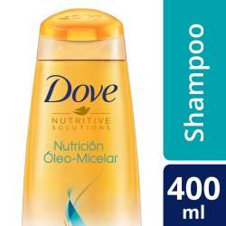 Shampoo Nutrición Óleo Micelar Dove x 400 cc.