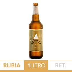 Cerveza Retornable Andes Origen Rubia x 1 Lt.