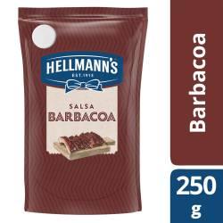 Salsa Barbacoa Hellmanns Doy Pack x 250 g.