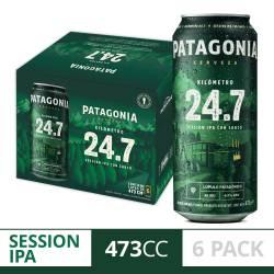 Cerveza Patagonia 24.7 Pack x 6 Latas de 473 cc