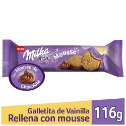 Galletitas con Mouse Milka x 116 g.