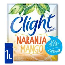 Polvo para Preparar Jugo Clight Naranja Mango x 7 g.