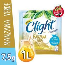 Polvo para Preparar Jugo Clight Manzana Verde x 7 g.