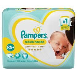 Pañal recién Nacido Pampers Premium Care x 36 un.