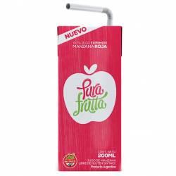 Jugo de Manzana Roja Pura Frutta 100% Exprimido x 200 cc.