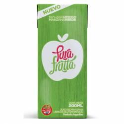 Jugo de Manzana Verde Pura Frutta 100% Exprimido x 200 cc.