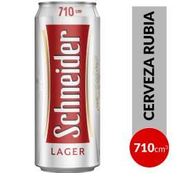 Cerveza Schneider Lata x 710 cc.