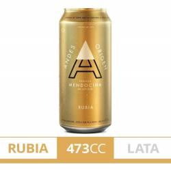 Cerveza Andes Origen Lata x 473 cc.