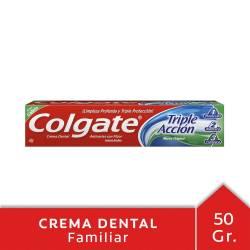 Crema Dental Colgate Triple Acción x 50 g.