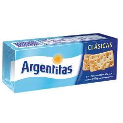 Galletitas Crackers de Agua Argentitas x 102 g.