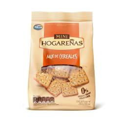 Galletitas Mini Hogareñas Mix de Cereales x 250 g.