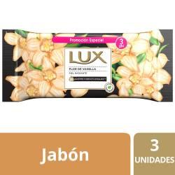 Jabón Tocador Lux Flor de Vainilla x 3 un. 375 g.
